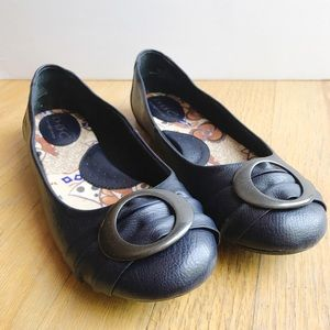 B.O.C Ballet Flats With Circle Buckle Size 8.5
